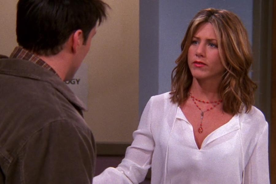 Rachel Green Season 8 hair waves