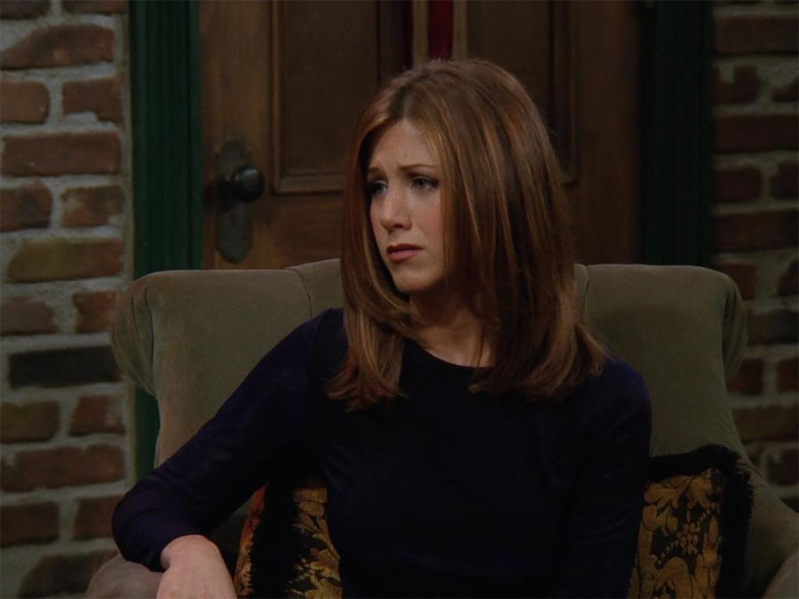 Rachel Green Sleek and Shiny