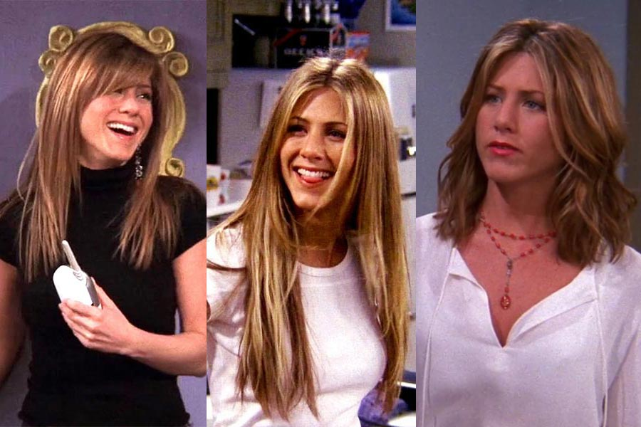 The Five Rachel Hairstyles of Rachel Green (Jennifer Aniston) Ranked