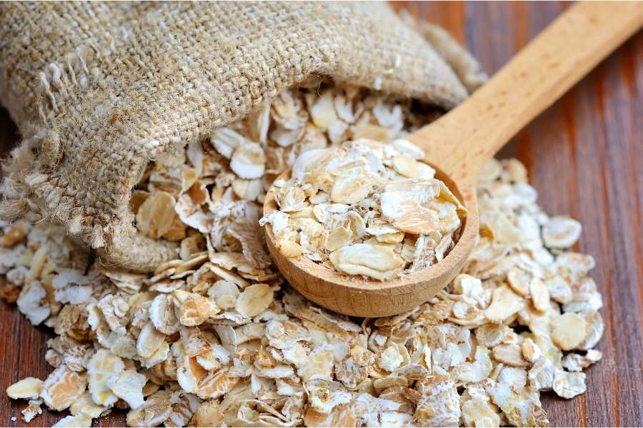 oats for fibre intake