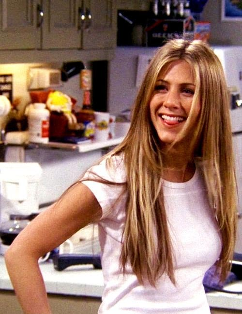 rachel green season 6 hair